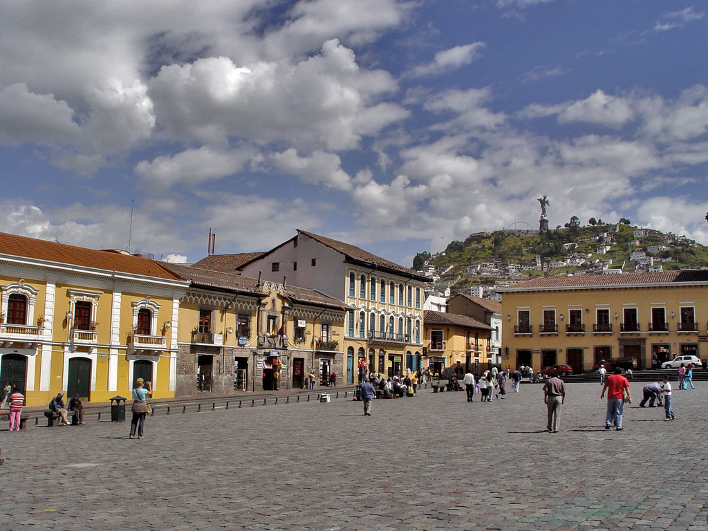 DSC00728 Plaza de San Francisco Quito Ecuador