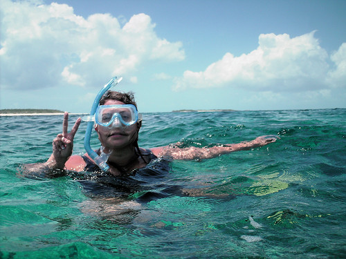 Snorkling by you.