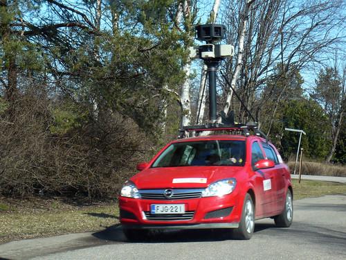 Google auto Raahe