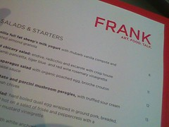 Frank Restaurant at the AGO - Toronto