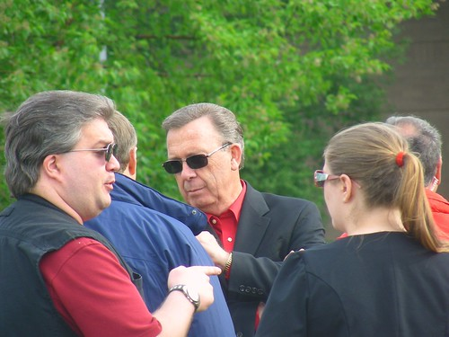 Jerry Prevo at the ABT picnic on the Loussac lawn, summer 2009