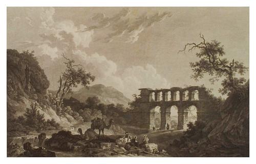 015- Vista de un acueducto cerca de Efeso-Voyage pittoresque de la Grèce 1782