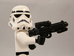 BrickArms Blaster Rifle Prototype 02 (enigmabadger) Tags: star lego prototype wars custom 2009 brickarms brickworld