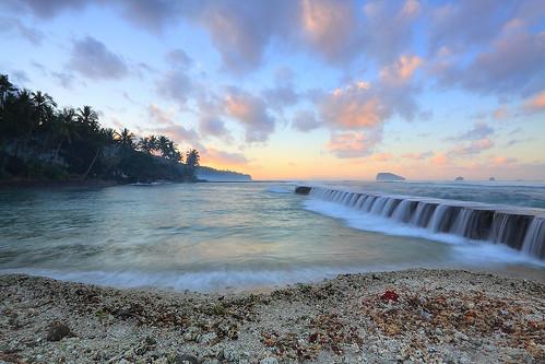 Sunrise at Candidasa, Bali