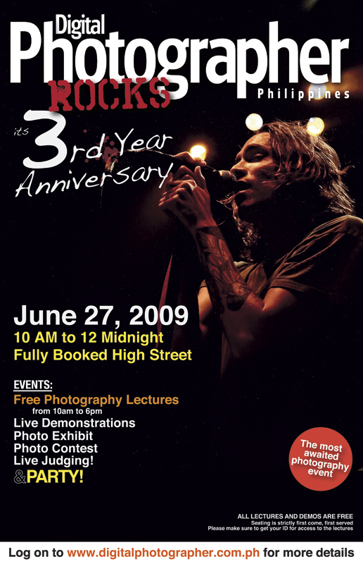 Digital Photographer Philippines 3rd Anniversary