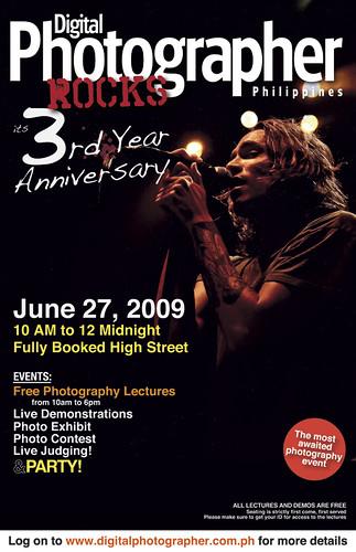 DPP 3rd Anniversary Poster