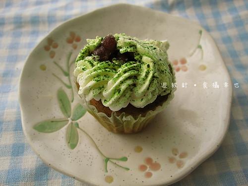克勞蒂杯子蛋糕北國抹茶蜜紅豆0