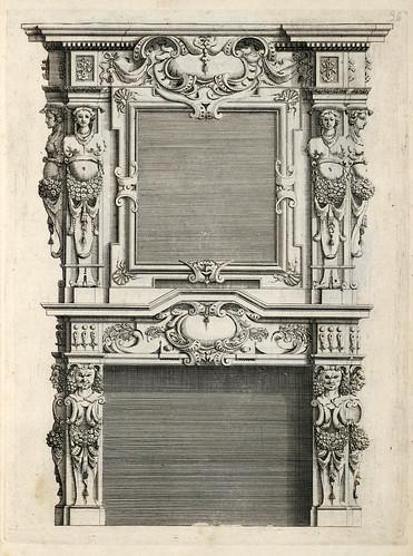 008-Livre d'architecture d'autels, et de cheminees- Barbet Jean-1633- © Institut national d'histoire de l'art