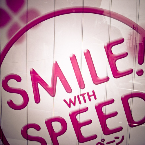 Speed Makes Me Smile Too