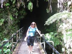 Outside the Thurston lava tube