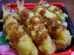 200810日本行 - 天重-炸蝦蓋飯