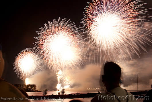 Hoboken Macys Fireworks Reader Photo Matt Fricovsky