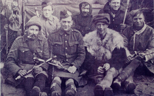 Scottish Soldiers, Murmansk, 1919