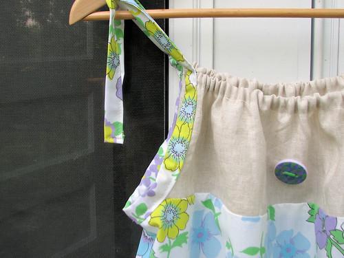 Tie detail on pillowcase dress