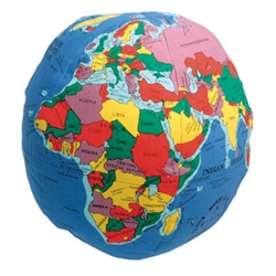 huggable globe