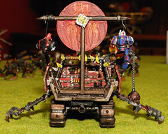 Trukk Rear (ff151) Tags: painting miniatures paint citadel space evil games assault workshop warhammer marines spacemarines reach orc warhammer40000 orks 40000 warhammer40k gamesworkshop ork fasta orcs spacemarine evilsun sunz trukk assaultonblackreach aobr evilsunz
