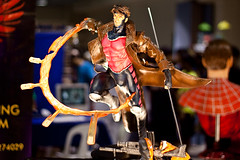 Gambit (WetCraft) Tags: toys hall metro philippines jerome figurine comiccon cartoons comicon pinoy chua canon50d megatrade jeromechua