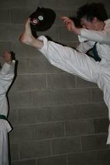 UCD TKD Club Training - UCD Sports Centre (July 2009) (irlLordy) Tags: ireland dublin club training kick july taekwondo 2009 tkd ucd sportscentre cillian