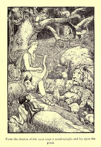 032-El musico divino-Los niños del Alba 1908- Frank Pape Cheyne