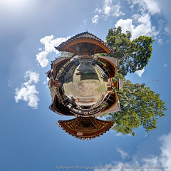 Planet Bali :: Tenganan (Sam Rohn - 360 Photography) Tags: bali panorama architecture indonesia asia seasia village id 360 panoramic planet 360x180 littleprince stereographic planetoid locationscout baliaga tenganan littleplanet nylocations samrohn smallplanet stereographicprojection