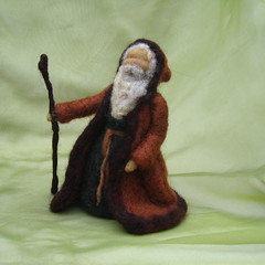 Classic Saint Nick (haddy2dogs) Tags: santa saint felted nick waldorf needle etsy claus haddy2dogs