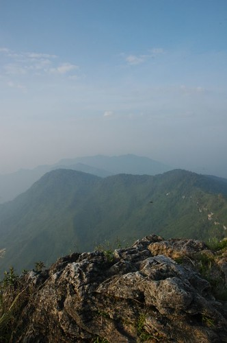 Phu Chee Fah distant viewpoint
