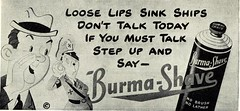 """Step Up and Say Burma-Shave"""