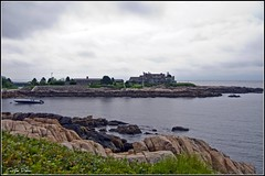 The Bush Summer Home at Kennebunkport, Maine