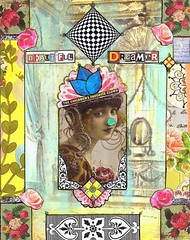 Beautiful Dreamer (BlueRidgeLady) Tags: art collage mixedmedia week50 crowabout