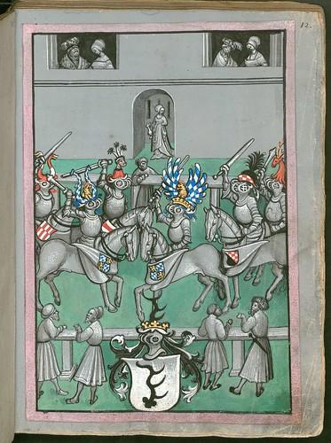 Ludwig von Eyb - Turnierbuch b