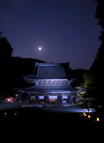 中秋の名月 泉涌寺