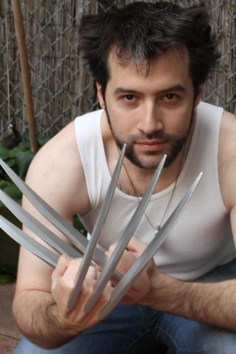 Lon as Wolverine 3