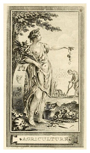 003-La agricultura-Iconologie par figures, ou, Traité complet des allégories…1791