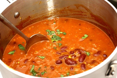 red kidney bean curry