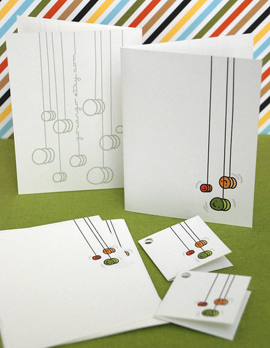 Printable Yoyo Stationery