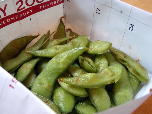 Roasted Edamame - Deep Fried...Something