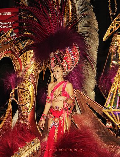 Cuarta Dama de Honor Carnaval de Santa Cruz de Tenerife 2009