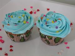 Cupcake blueberry