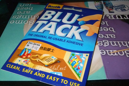 how to make blu tack