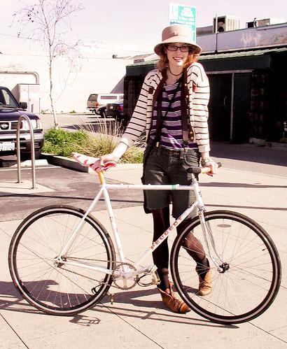It's my Boyfriend's Bike i'm Riding