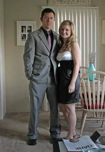 Dressed up!