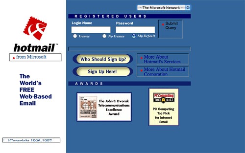 Websites We Visit: How They Look Like 10 Years Ago
