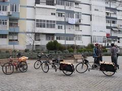 Cicloficina de Linda-a-Velha em Março '09