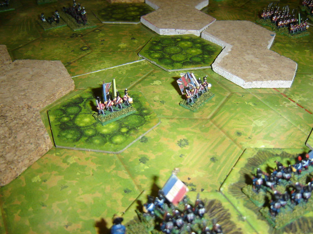 English decimated by effective French long-range fire