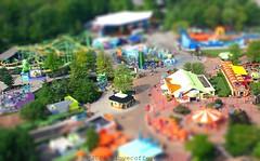 King's Island Tilted And Shifted (ilovecoffeeyesido) Tags: amusementpark kingsisland cincinnatioh tiltshift kiddierides tiltshiftfocus tiltshiftmaker