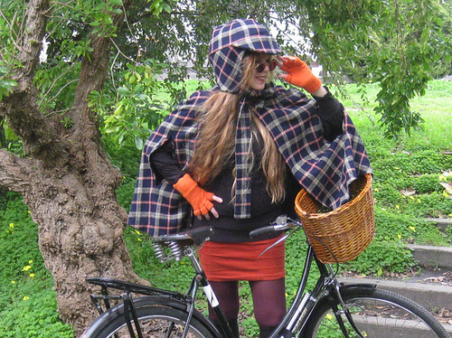 'Sherlock Holmes' Bicycle Riding Attire