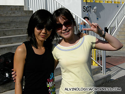 Ching Yee and Margaret