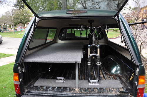 Topic: OT: Dirtbag Chalet/Revisiting the truck bed platform