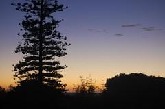 sunset over indian ocean