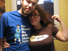 Librarian Love! by TopatoCo, on Flickr
